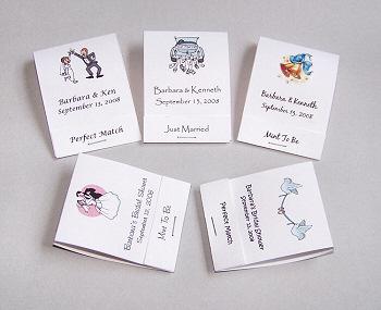 50 DIY Personalized Wedding Mintbooks Matchbooks Favors | eBay